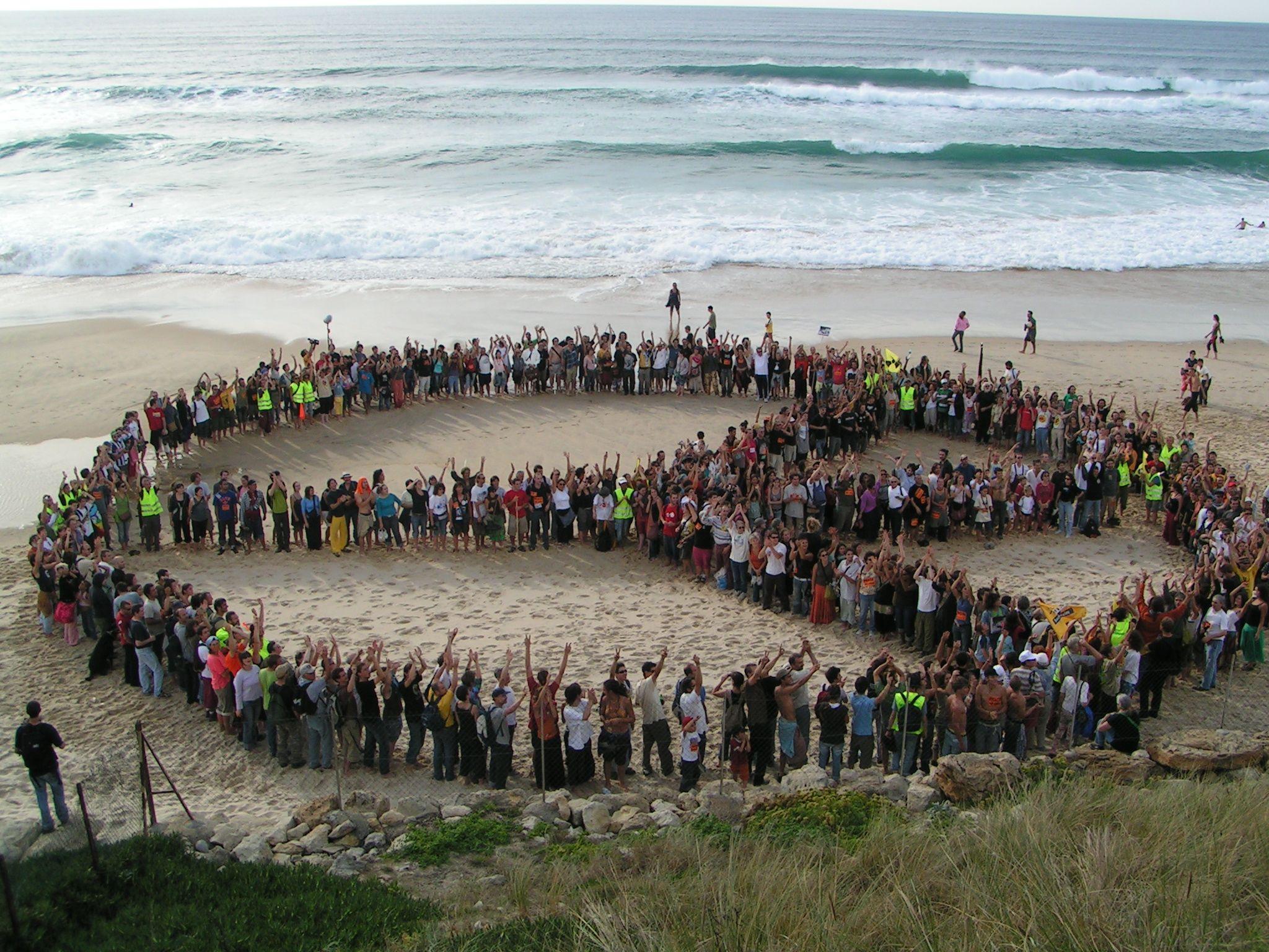 Paz en la playa