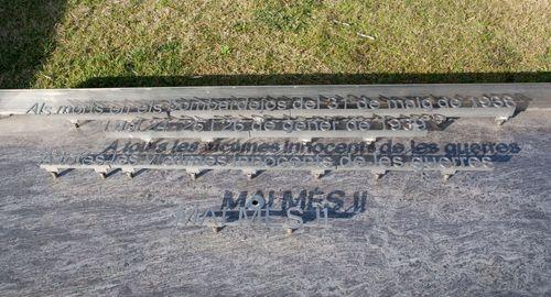 Acto en recuerdo y homenaje a las víctimas del bombardeo de 1938.