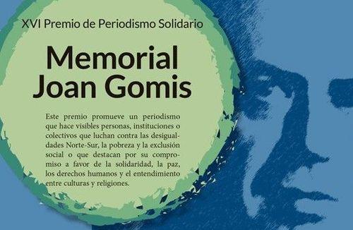 Cartel premio Memoriaal Joan Gomis