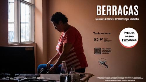 Cartel de presentación del proyecto Berracas