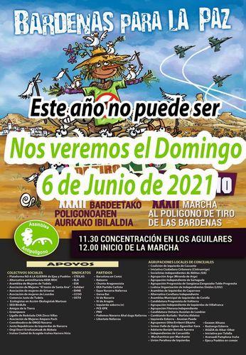 XXXIII Marcha al Polígono de Tiro de las Bardenas