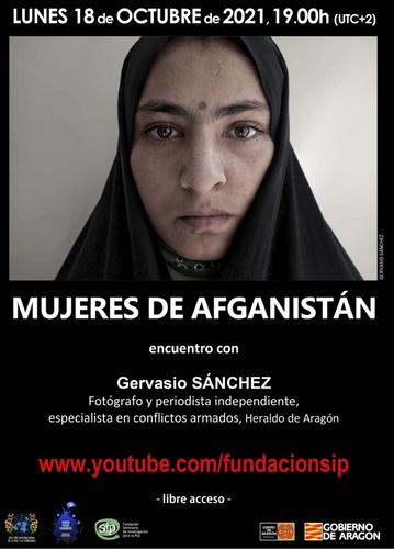 Cartel Mujeres de Afganistán