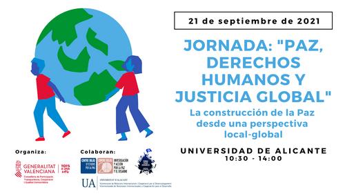 Jornada 'Paz, Derechos, Humanos y Justicia Global'