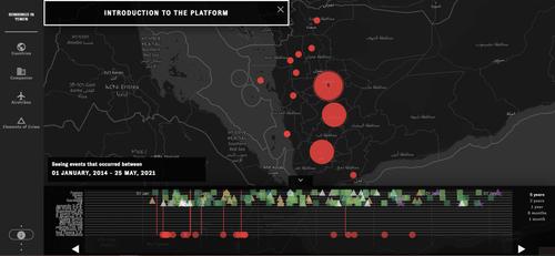 Mapa interactivo para trazar los impactos que tienen las armas europeas en la guerra en Yemen